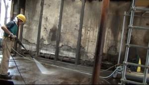 工場跡洗浄2