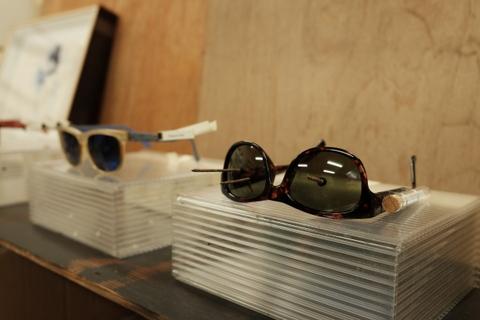 ウエダさんのメガネ